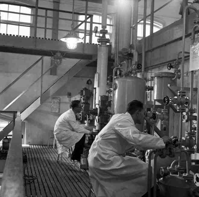 RZ3910-15 (van neg), Philips-Roxane, Weesp, fabricage Vitamine A