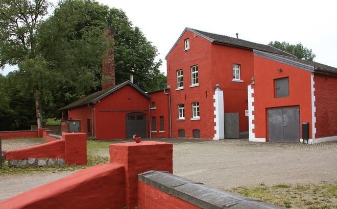 Die Komericher Mühle bei Aachen-Brand
